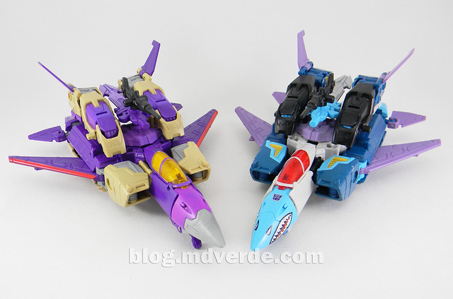 Transformers Doubledealer Voyager - Generations - modo jet vs Blitzwing