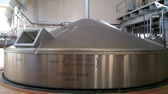 Mortlach Distillery Mashtun
