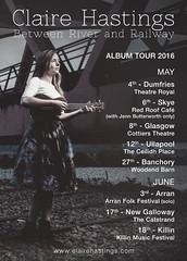 Claire Hastings - album + tour