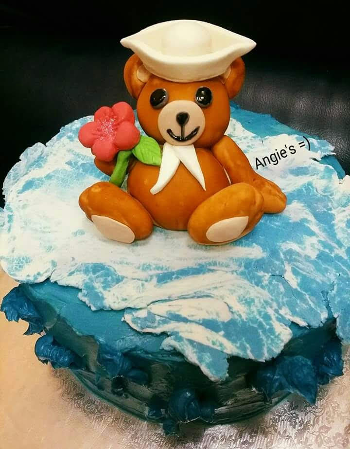 Cute Cake by Angie Fraginal