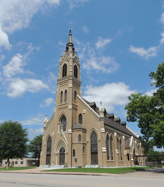 St. Michael's Catholic Church in Weimar TX