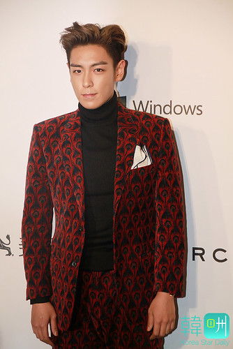 TOP - amfAR Charity Event - Red Carpet - 14mar2015 - Korea Star Daily - 05