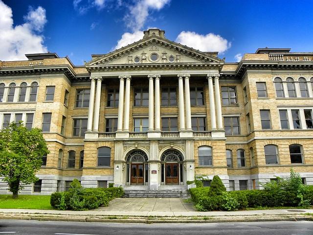 Syracuse New York ~ Former Central High School  ~ Historic