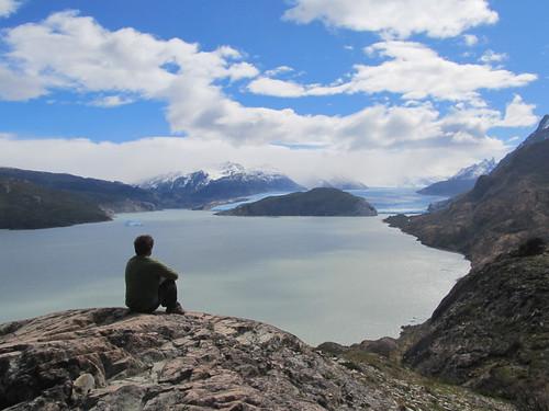 Torres del Paine: trek du W. Jour 5: le Lago et le Glaciar Grey. Zen !