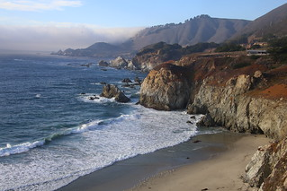 On the Pacific Coast Highway.  California.