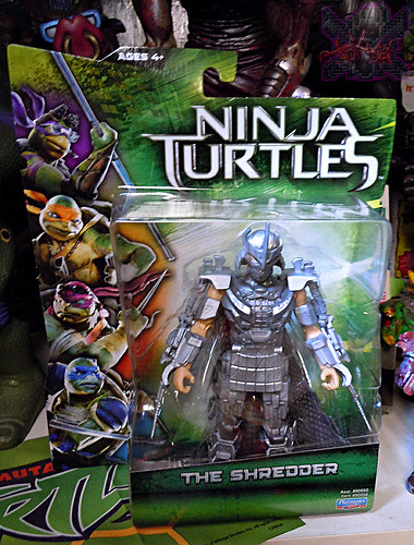 """NINJA TURTLES"" Movie :: SHREDDER i (( 2014 ))"