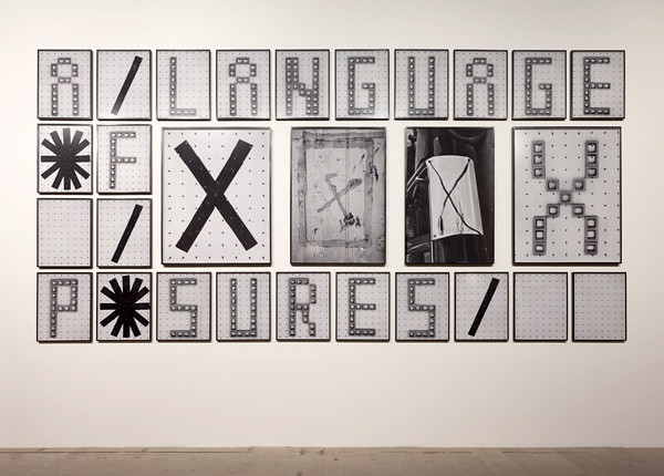 Shannon Ebner ELNGUE FXPSR 2011 Venice Biennale