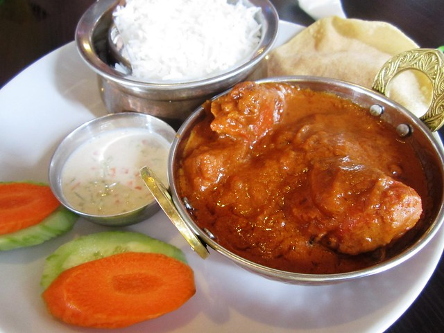 Cafe Ind butter chicken curry 1