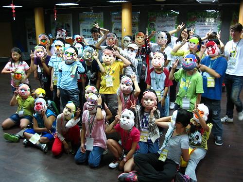 壽管處舉辦多個營隊,重建人猴關係,從教育做起。圖為這夏猴有趣營隊。(攝影:邱韻璇)