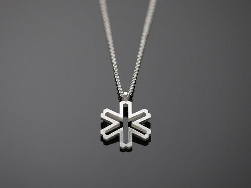 Snow Star - small pendant