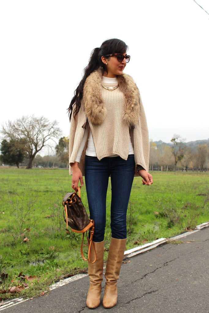 Layering with  Poncho or Cape 7