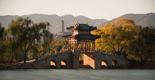 Bridge + Pagoda  -  Beijing, China