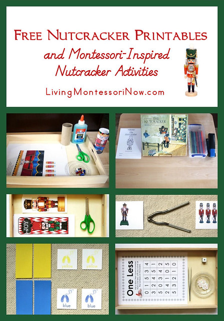 Montessori-Inspired Nutcracker Activities Using Free Printables