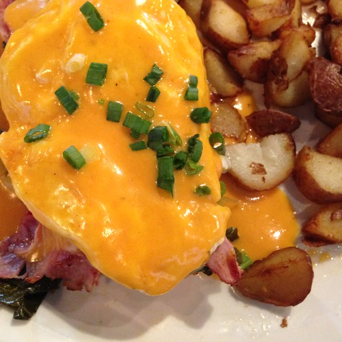 double comfort southern eggs benedict