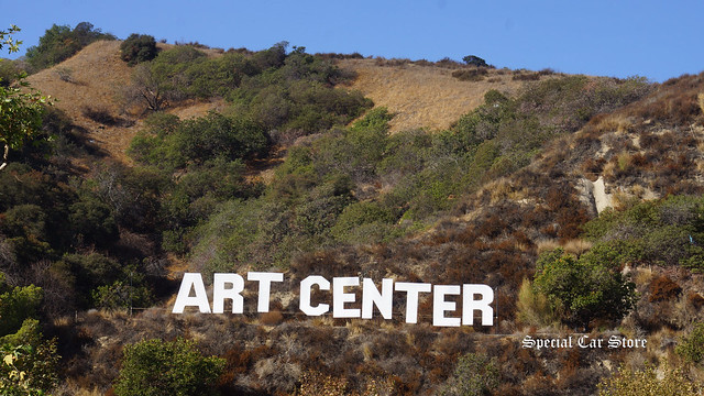 Art Center Hill Sign