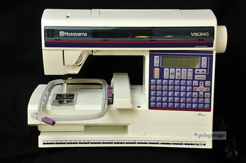 Husqvarna viking rose sewing embroidery machine software