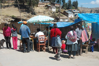 Lunchtime in Vilcashuamán, Ayacucho, Peru
