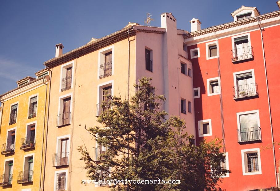 Fachadas de Cuenca