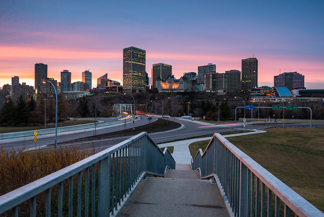 Edmonton in November