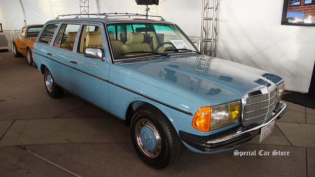 1982 Mercedes-Benz 300 Turbo Diesel Wagon