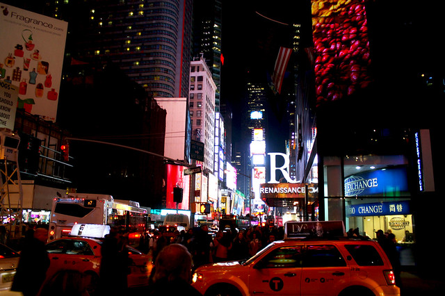 New York City: Day 4, the tourists and the thai food