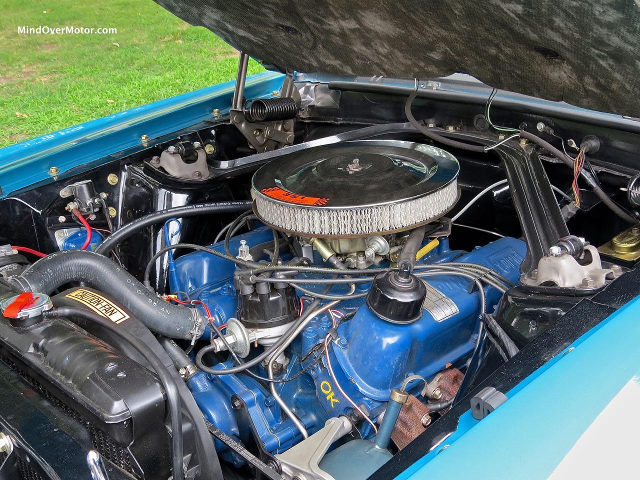 1969 Mustang Mach 1 Motor