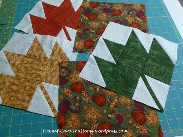 Maple 3 Leaf Table Runner -1