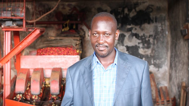 Kieni chairman Charles Mwai, re-elected in August for the next 3 years