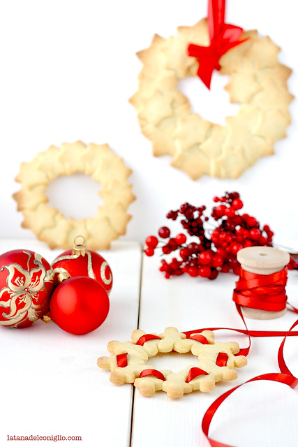 ghirlande di Natale con frollini vaniglia2