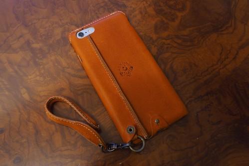 JACA JACAのiPhone6plus用栃木レザーオープンタイプケース