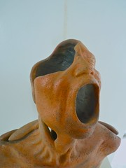 nose, carving, art, clay, sculpture,