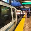 Two trains, one platform.