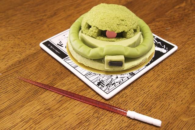 量産型ザクケーキセット