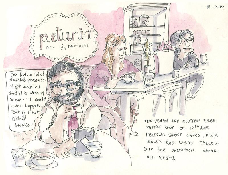 Petunia–gluten free bakery