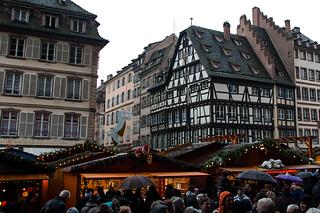 Marché de Noël sur la Place de la Cathédrale