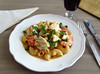 Pasta with monkfish and shrimp - Food From Portugal