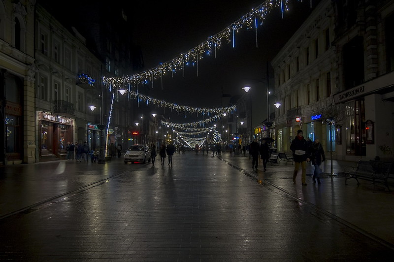 Piotrkowska Night-ready for new year