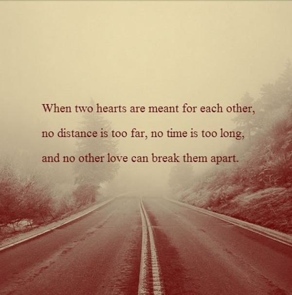 Distance Love Quotes For Him Tumblr : 30+ Best Long Distance Relationship Quotes