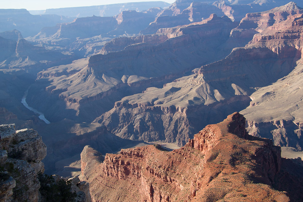 View of Grand Canyon from Hermits Rest trail lookout