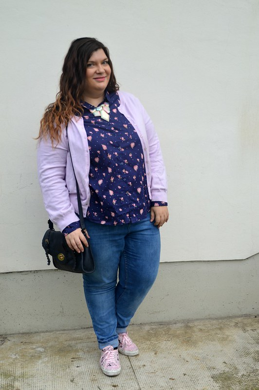 outfit plus size blue e rosa 3