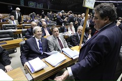 04 12 2014 Dep Paulo Abi-Ackel com Imbassahy Plenário PL Superávit
