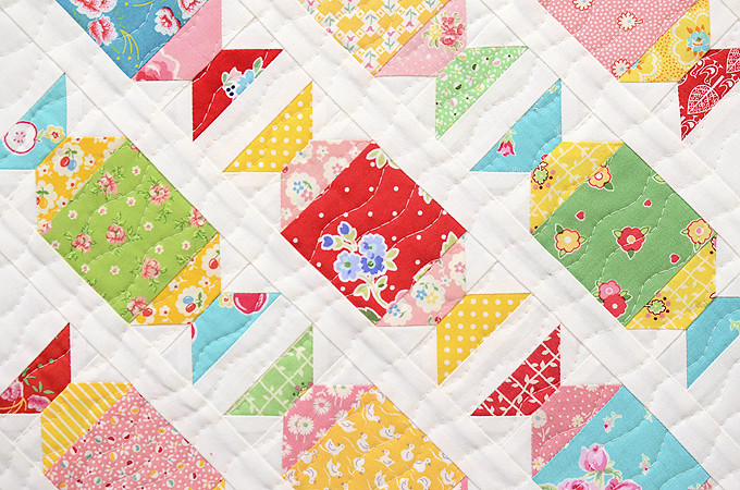 Sugar Candies Mini Quilt