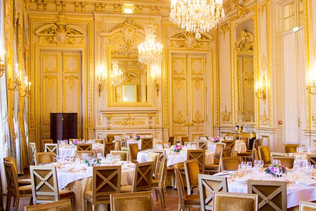 opulent interior Shangri-La hotel Paris