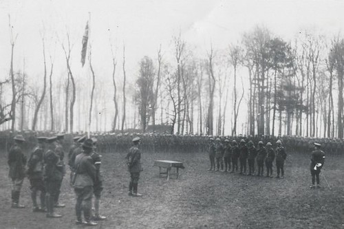 February 1918 Victoria Cross award ceremony