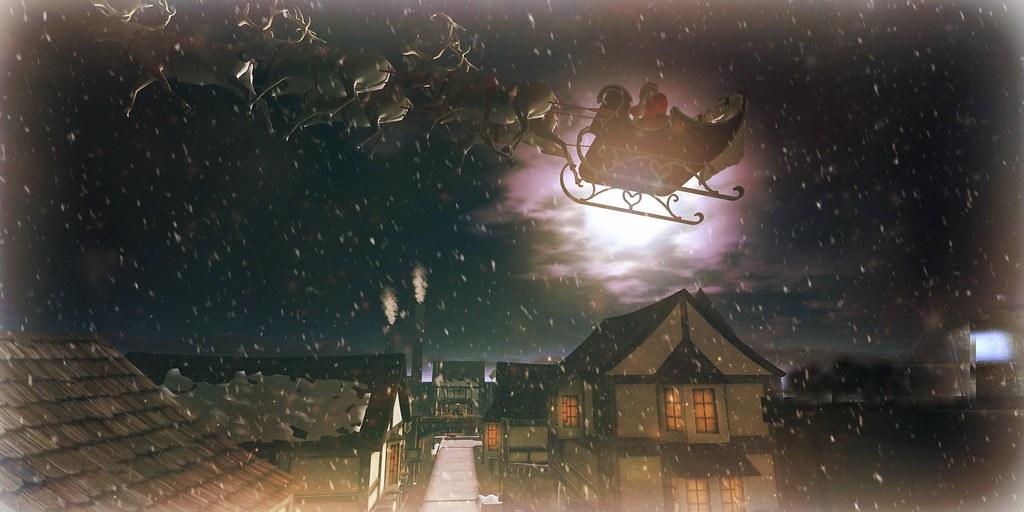 One night of magic. Kids believe in Santa...adults believe in childhood