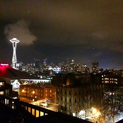Seattle is pretty rad #seattle  #viewfromthetop #scenery #spaceneedle