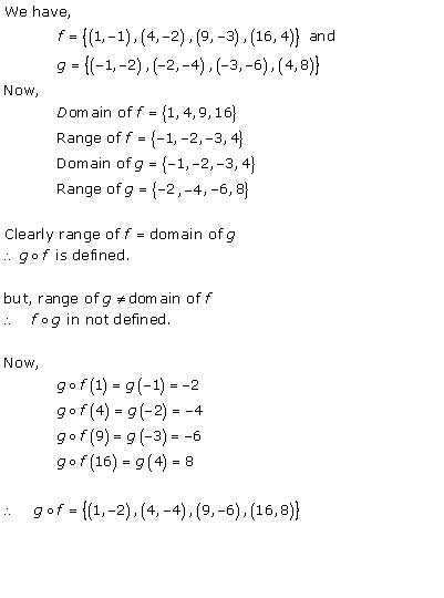 RD Sharma Class 12 Solutions Chapter 2 Functions Ex2.2 Q3