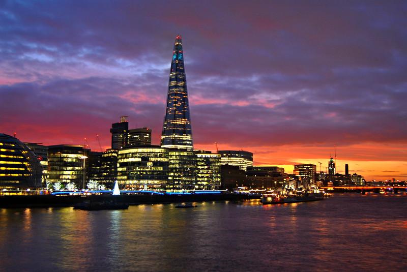 London Sunset @ Shard