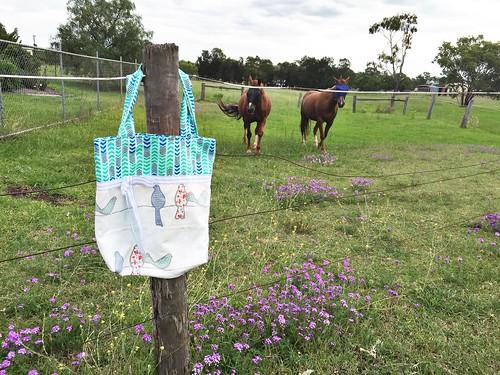 Tote bag + Horses