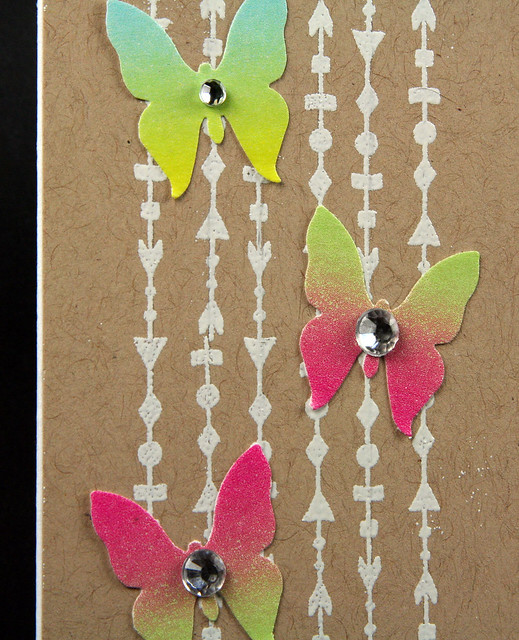 Pinkfresh Ombre Washi Butterfly Card | shirley shirley bo birley Blog